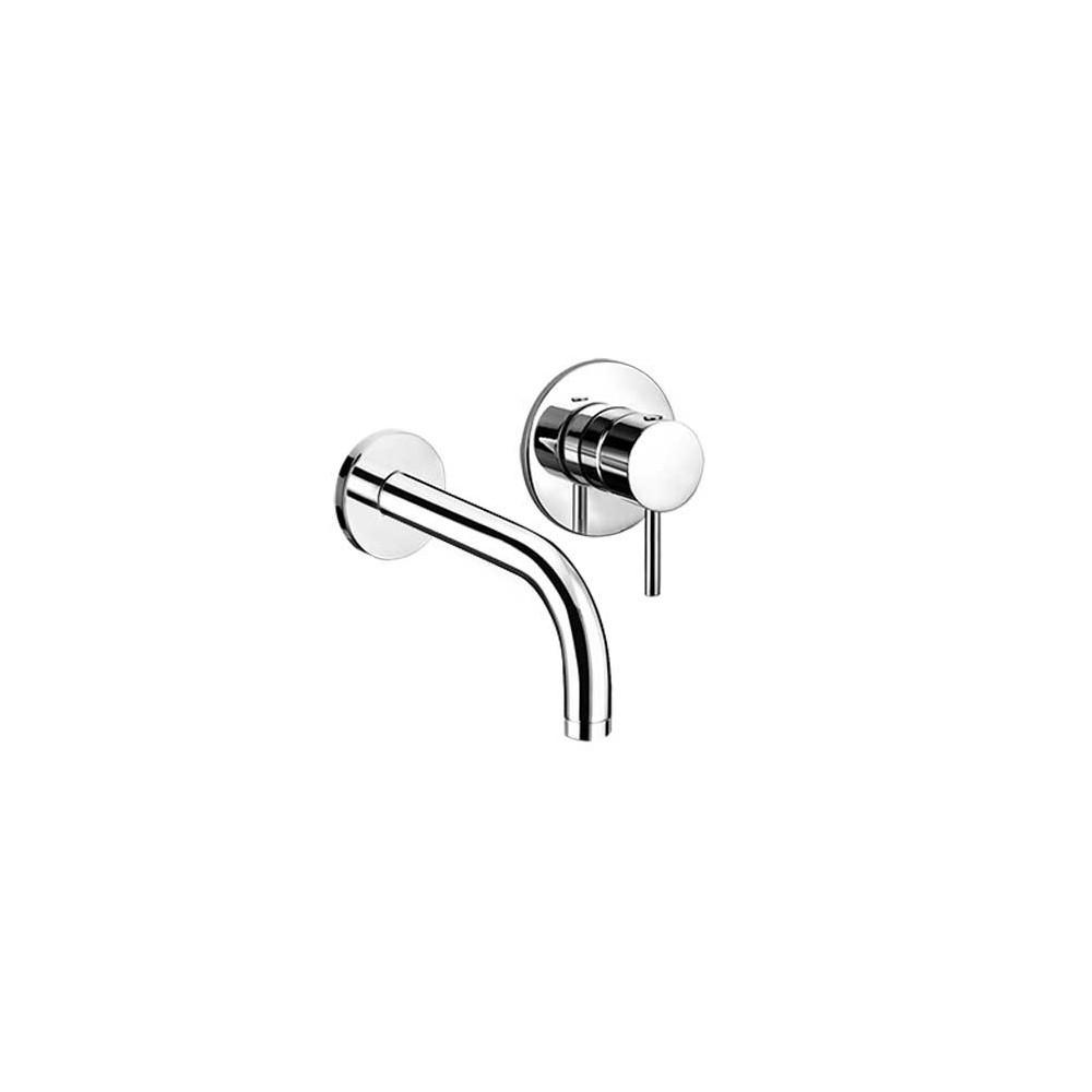 Miscelatore A Muro Per Lavabo rubinetto da parete per lavabo moderno heos 3070 gaboli flli