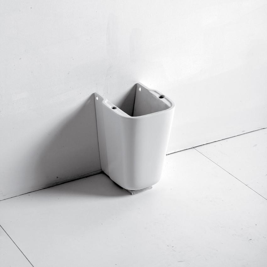 Semicolonna per lavabo Synthesis Olympia Ceramica