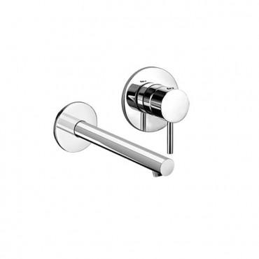robinets de salle de bain muraux Gaboli Flli Rubinetteria Heos 3072