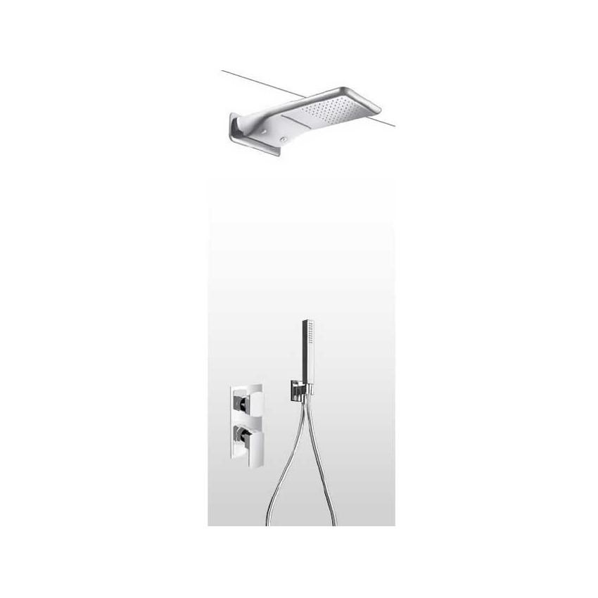 Soffione doccia multifunzione con kit doccia e miscelatore AD26
