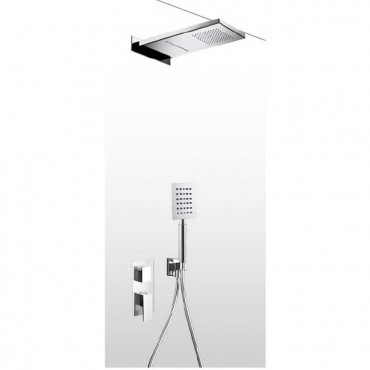 Wall-mounted shower head...