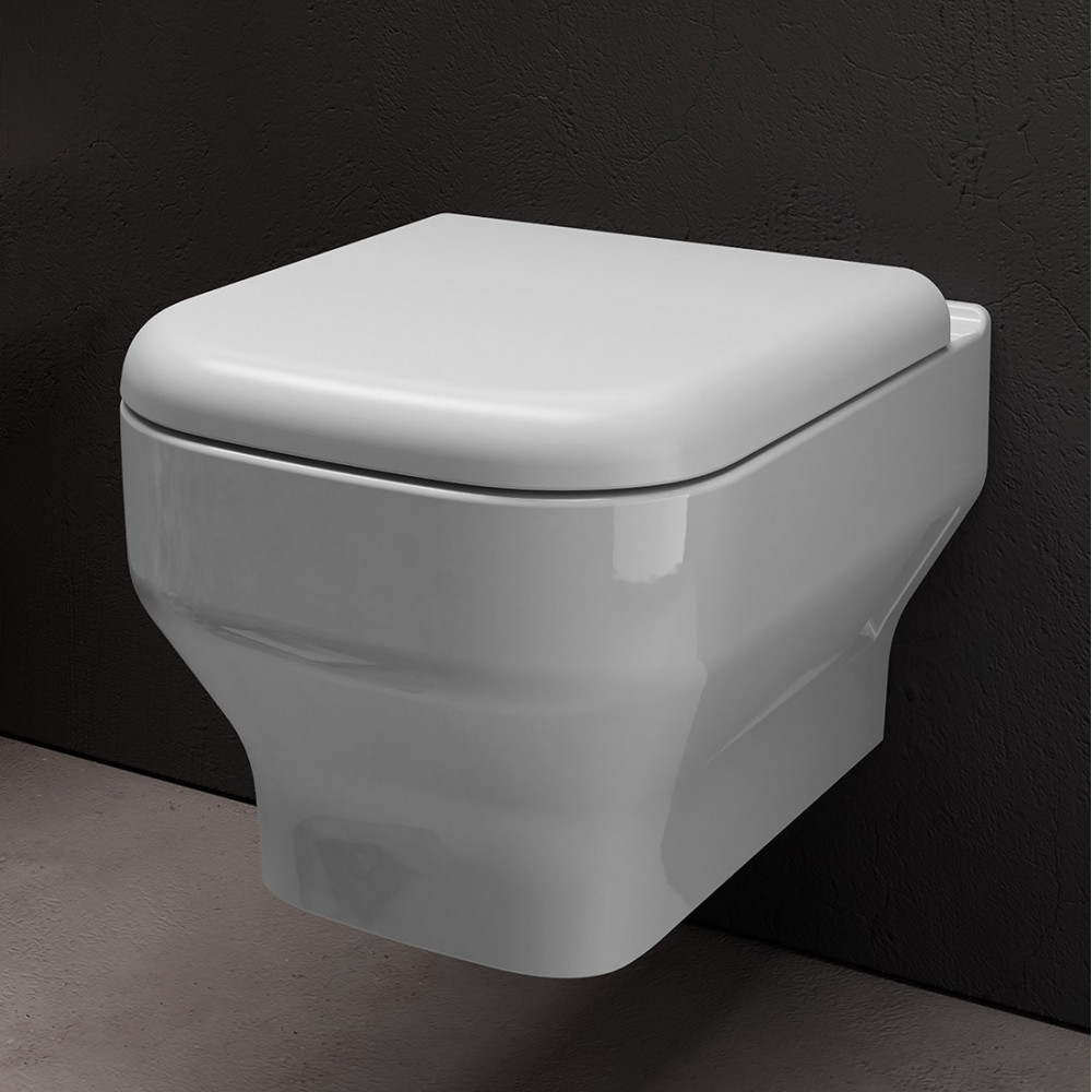 Wc sospeso Synthesis Olympia Ceramica