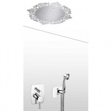 Pomme de douche rétro avec...