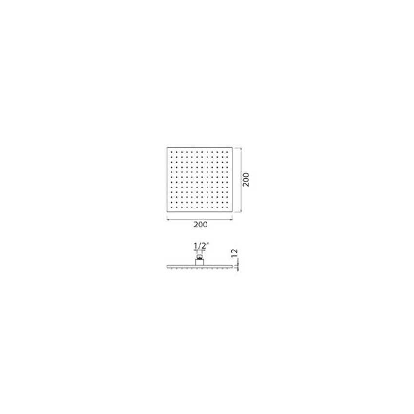 rubinetteria nera opaca offerta Gaboli Flli rubinetteria QU510