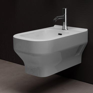 Suspended bidet prices Synthesis Olympia Ceramica
