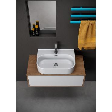 Olympia ceramic countertop washbasin