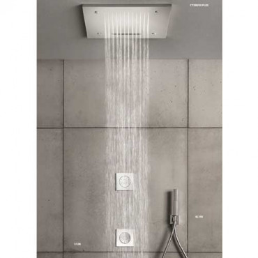 Hand shower rectangular anti-lime hand shower KL193 Gaboli Flli