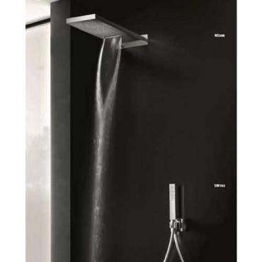 Kit doccia con presa acqua quadrata SW193