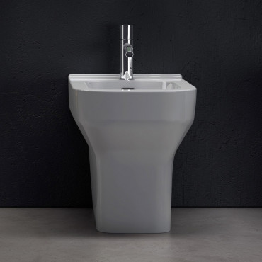 Synthesis Olympia Ceramica back to wall bidet