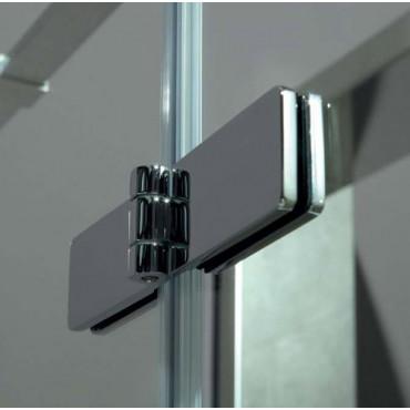 Box doccia 8mill Infinity battente angolare Colacril 80/120 cm