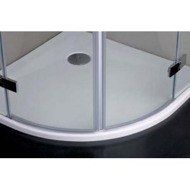 Cabine de douche semi-circulaire s8mill Infinity swing Colacril