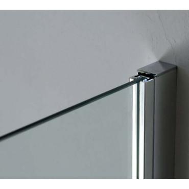 Profil adaptateur NTPA07 20 mm pour parois de douche Colaril