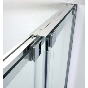 8PSC15 niche shower enclosure with Colacril sliding door