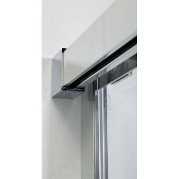 Cabine de douche d'angle à portes coulissantes 8PSC15 Colacril