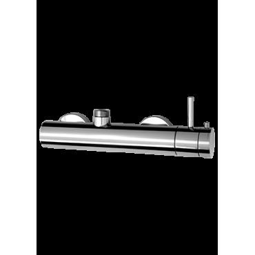 mezclador termostático de ducha externo Gaboli Flli