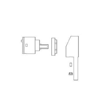 Mezclador termostático de ducha KIT Gaboli