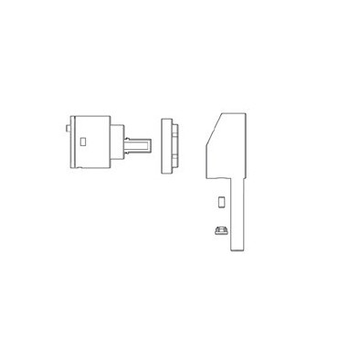 Thermostat-Brausemischer KIT Gaboli