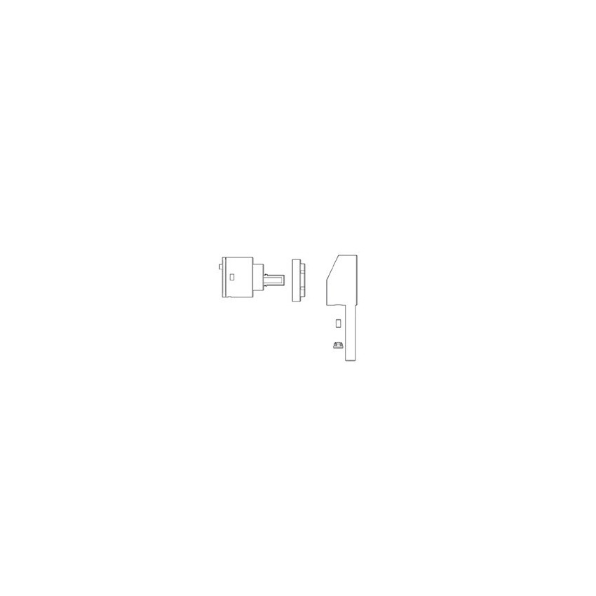 Thermostatic shower mixer KIT Gaboli