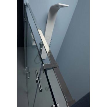 Box doccia 8mill Infinity a nicchia doppia porta battente Colacril