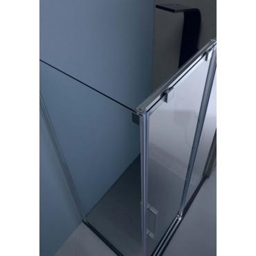 Corner shower enclosure with sliding door 6PSC15 Colacril