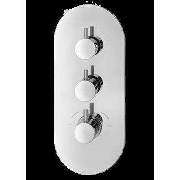 Thermostat-Brausebatterie 2455 Gaboli Fratelli Rubinetteria