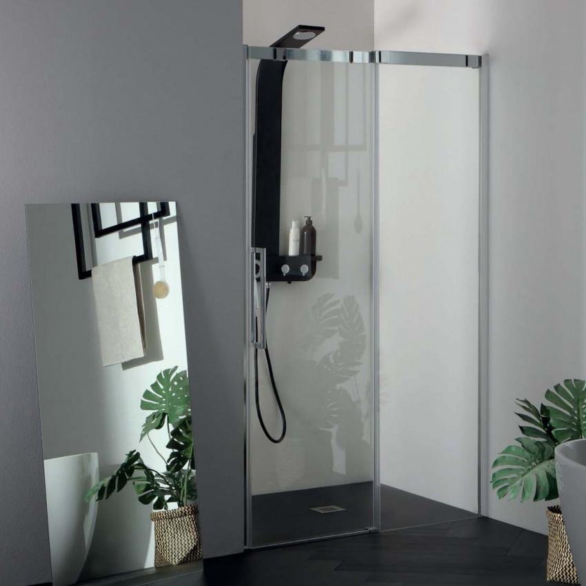 Cabine de douche 6PSC15 avec porte coulissante niche Colacril