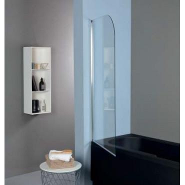 Parete sopra vasca in cristallo TSV51