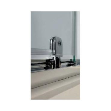 Box doccia angolare porta battente vetro singolo FPB40 Colacril