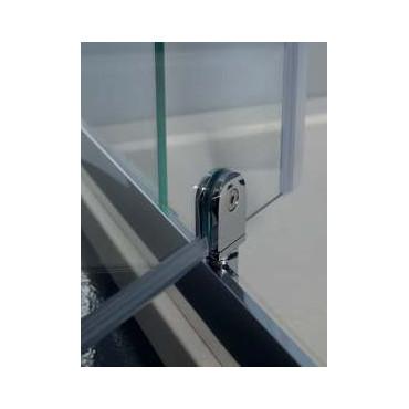 FPB40 Colacril douche d'angle en verre à double porte d'angle