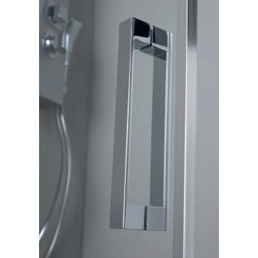 Box doccia a nicchia porta battente vetro doppio FPB40 Colacril