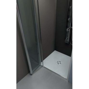 Box doccia a nicchia porta a soffietto FPS30 Colacril