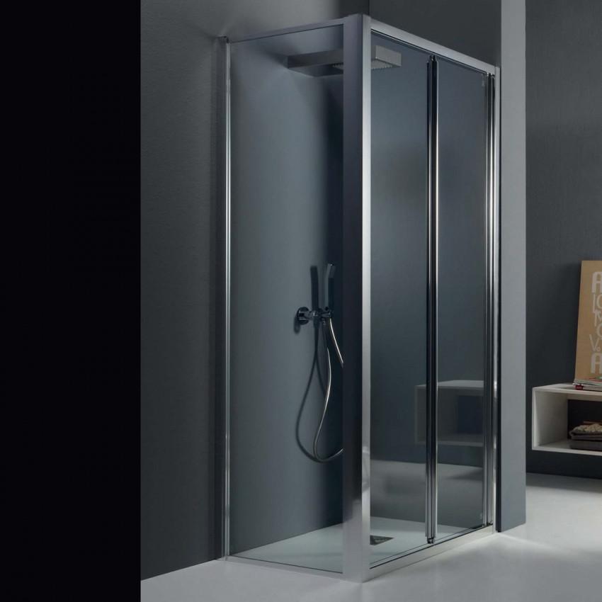 Box doccia angolare porta a soffietto FPS30 Colacril