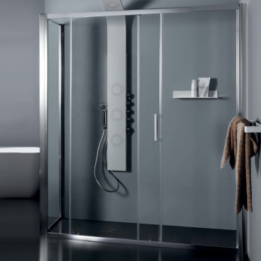 Box doccia angolare a porta...