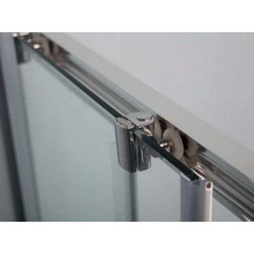 Niche shower enclosure with sliding door FPSC57 Colacril