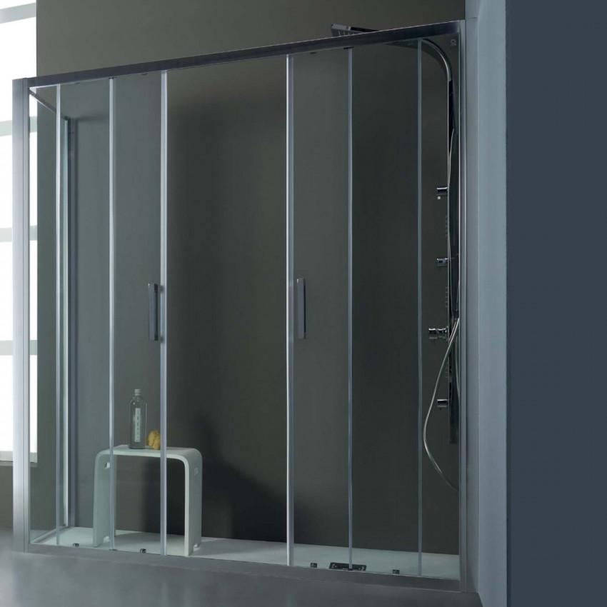 Box doccia angolare a porta scorrevole FPSC57 Colacril