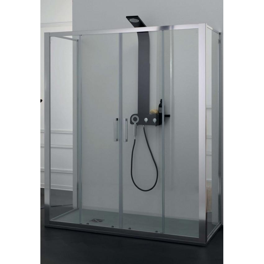 Box doccia centro parete con porta scorrevole FPSC57 Colacril