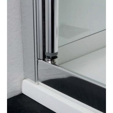 Cabine de douche centrale avec porte carré FPSL60 Colacril