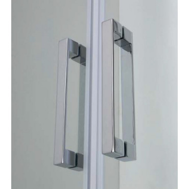 Box doccia centro parete con porta a saloon FPSL60 Colacril