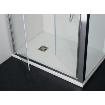 Box doccia angolare con porta a saloon FPSL60 Colacril