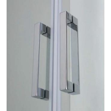 Corner shower enclosure with saloon door FPSL60 Colacril