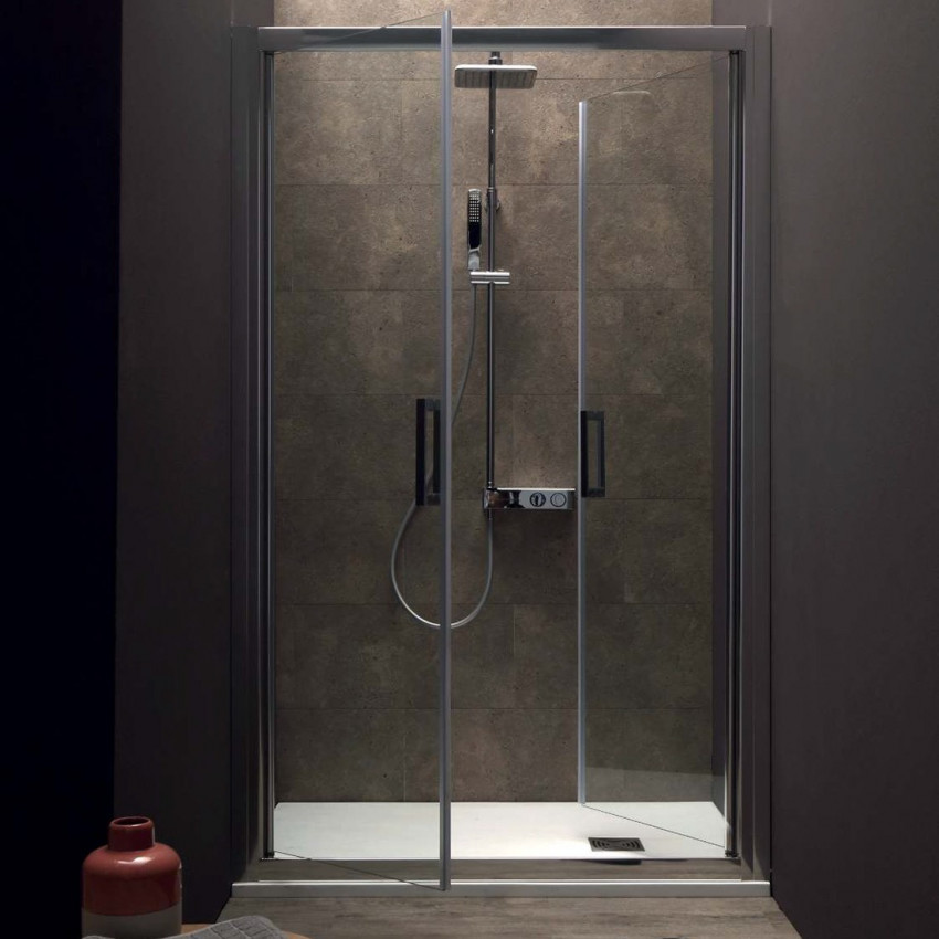 Box doccia a nicchia con porta a saloon FPSL60 Colacril