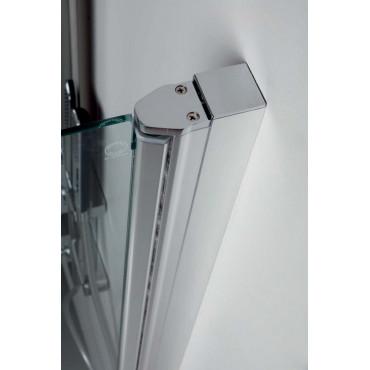 Box doccia a nicchia con porta battente TEPB42 Colacril