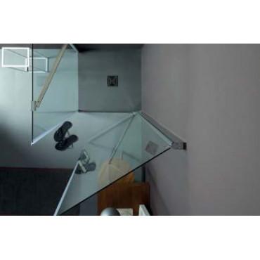 Cabine de douche d'angle à portes battantes TEPB42 Colacril