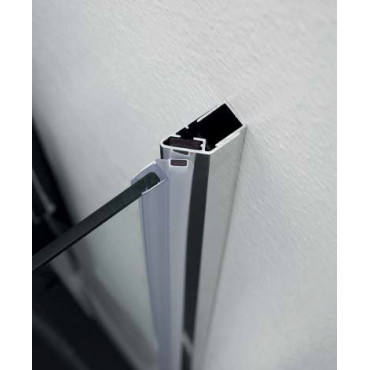 Cabine de douche d'angle à portes battantes TEPB43 Colacril