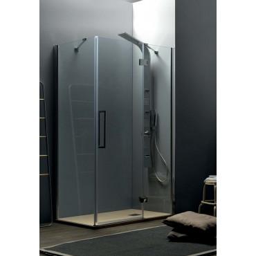 Box doccia angolare porta battente TEPB43 Colacril