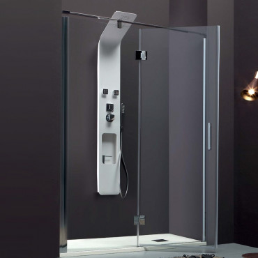 Niche shower enclosure with...