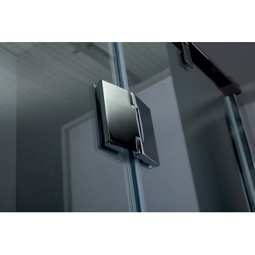 Niche shower enclosure with hinged door TPB72 Colacril