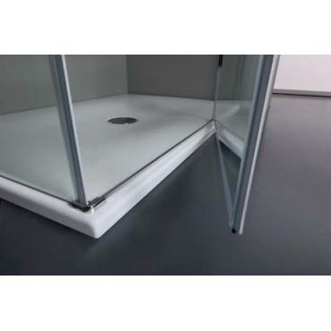 Box doccia angolare con porta battente TPB72 Colacril
