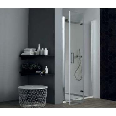 Cabine de douche en niche à portes pliantes TPS35 Colacril