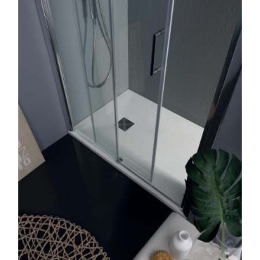 Niche shower enclosure with sliding door TPSC55 Colacril